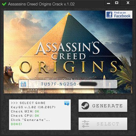 Assassins Creed Origins 3DM CODEX Crack torrent download